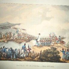 Arte: 1815 - MILITAR - GUERRA DE LA INDEPENDENCIA - BATALLA DE LA ALBUERA BADAJOZ - 16 MAYO 1811. Lote 57381622