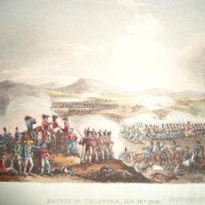 Arte: BATALLA DE TALAVERA - 28 JULIO 1809 - MILITAR - GUERRA DE LA INDEPENDENCIA - 1815. Lote 57381935