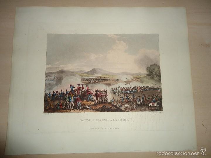 Arte: BATALLA DE TALAVERA - 28 JULIO 1809 - MILITAR - GUERRA DE LA INDEPENDENCIA - 1815 - Foto 2 - 57381935