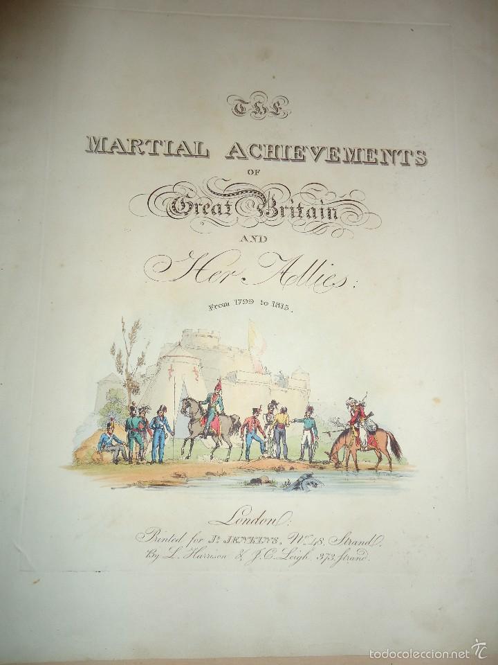 Arte: BATALLA DE TALAVERA - 28 JULIO 1809 - MILITAR - GUERRA DE LA INDEPENDENCIA - 1815 - Foto 3 - 57381935