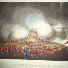 Arte: 1815 - MILITAR - GUERRA DE LA INDEPENDENCIA - SITIO DE MONTEVIDEO - 3 FEBRERO 1807. Lote 57382166