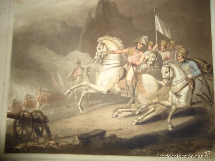 1819 - MILITAR - GUERRA DE LA INDEPENDENCIA - BATALLA DE LOS PIRINEOS - 25 AL 30 JULIO 1813 (Arte - Grabados - Modernos siglo XIX)