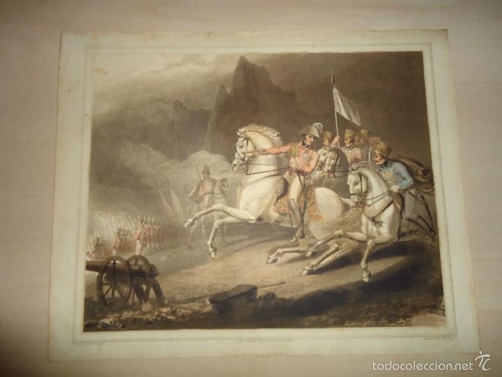 Arte: 1819 - MILITAR - GUERRA DE LA INDEPENDENCIA - BATALLA DE LOS PIRINEOS - 25 al 30 JULIO 1813 - Foto 2 - 57391221