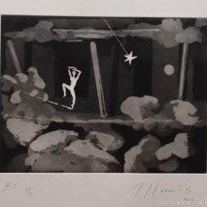 Arte: ROBERT LLIMOS: AGUAFUERTE FIRMADO Y NUMERADO A MANO / 2010. Lote 57413163