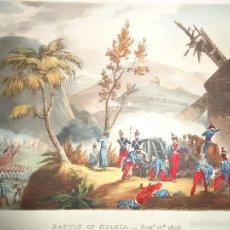 Arte: 1815 - MILITAR - GUERRA DE LA INDEPENDENCIA - BATALLA DE ROLIÇA - ROLEIA - 1808 - PORTUGAL. Lote 57414674