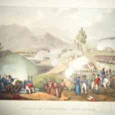 Arte: 1815 - MILITAR - GUERRA DE LA INDEPENDENCIA - BATALLA DE SALAMONDA - 16 MAYO 1809 - PORTUGAL. Lote 57415302