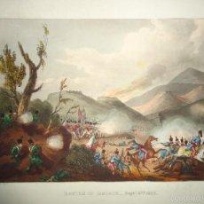 Arte: 1815 - MILITAR - GUERRA DE LA INDEPENDENCIA - BATALLA DE BUÇACO - 27 SEPTIEMBRE 1810 - PORTUGAL. Lote 57415561