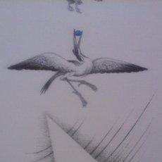 Arte: MANOLO BOIX ,GRABADO FIRMADO EN PLANCHA, 49´5 X 35´5. Lote 70428243