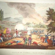 Arte: 1815 - MILITAR - GUERRA DE LA INDEPENDENCIA - BATALLA DE POMBAL - 12 MARZO 1811 - PORTUGAL. Lote 57415717