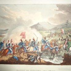 Arte: 1815 - MILITAR - GUERRA DE LA INDEPENDENCIA - BATALLA DE MORALES DE TORO - 2 JUNIO 1813 - ZAMORA. Lote 57419697