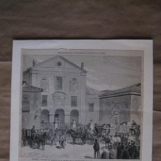 Arte: MADRID. PEREGRINACION DE ESPAÑOLES CATOLICOS A ROMA, REUNION DE ROMEROS EN LA IGLESIA ENCARNACION. Lote 57469568