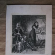 Arte: THE MAID OF ORLEANS, JUANA DE ARCO. LA DONCELLA DE ORLEANS. Lote 57470131