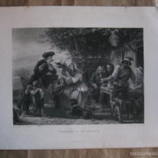 Arte: GOLDSMITH ON HIS TRAVELS, FLAUTISTA . Lote 57470337