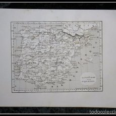 Arte: 1852 - LA ESPAÑA ARABE DURANTE EL CALIFATO DE CORDOBA - GRABADO - ENGRAVING - GRAVURE - 245X157 MM. Lote 57491775