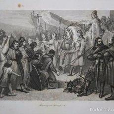 Arte: 1852 - MAUREGATO TRIUNFANTE - GRABADO - ENGRAVING - GRAVURE - 242X158 MM. Lote 57491955
