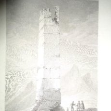 Arte: TORRE ELEVADA EN LOS ANTIGUOS CAMINOS MOROS. J. TAYLOR. PARIS 1826 1ª EDICIÓN - 22X29 CM.. Lote 57527825