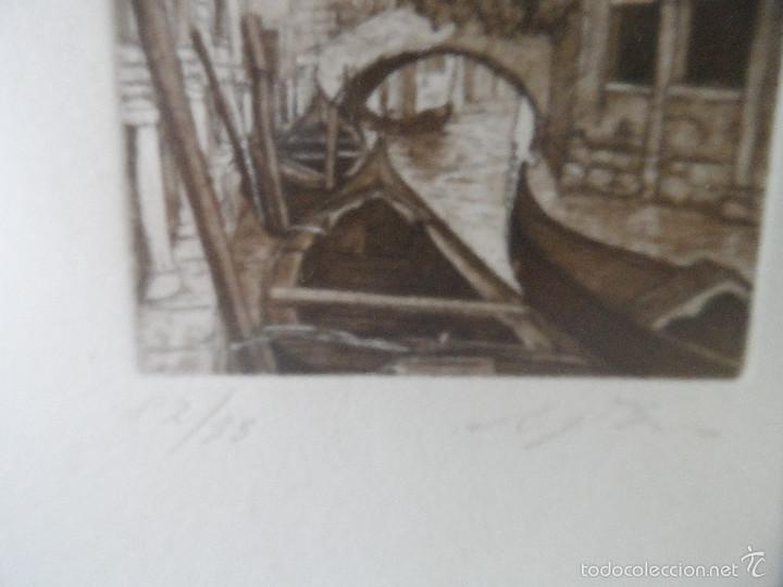Arte: Aguafuerte italiano firmado - Foto 2 - 57534518