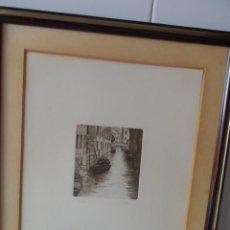 Arte: AGUAFUERTE ITALIANO FIRMADO. Lote 57534585