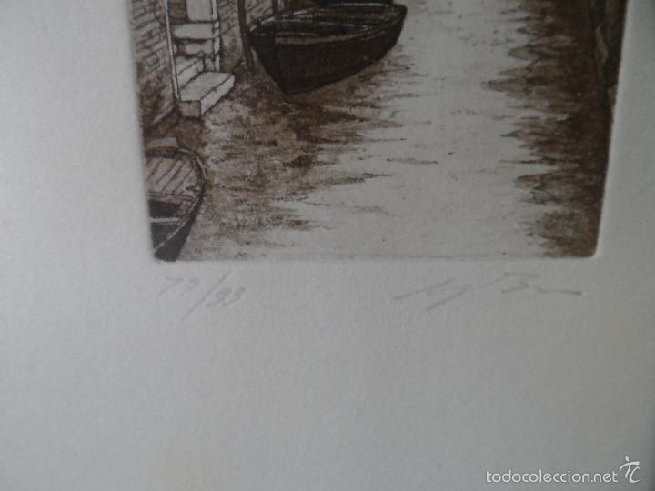 Arte: Aguafuerte italiano firmado - Foto 2 - 57534585