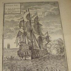 Arte: GRABADO DEL S.XVIII. DU GLOBE TERRESTRE. FIGURE XCV. Lote 57606701