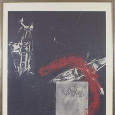 Arte: SUSANNE WELDER: GRABADO NUMERADO Y FIRMADO A LÁPIZ. Lote 57629845