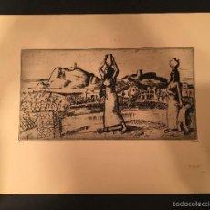Arte: LASZLO BARTA (1902-1961) - AGUAFUERTE ORIGINAL - FIRMADO - NUMERADO - JUDAICA - JUDIO [04]. Lote 57866526