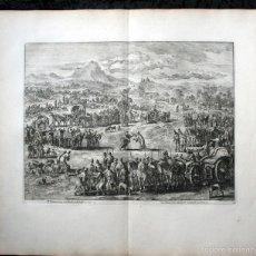 Arte: 1729 - GRABADO BIBLIA ENCUENTRO DE JACOB Y JOSEB - LUYKEN - ENGRAVING - GRAVURE - 580X520MM. Lote 57924357