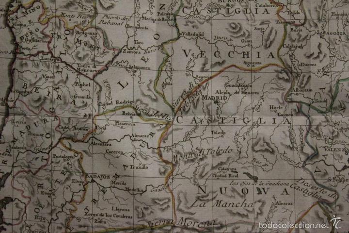 Arte: Mapa de España y Portugal, 1796. Antonio Zatta - Foto 7 - 58067855