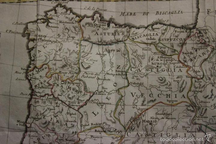 Arte: Mapa de España y Portugal, 1796. Antonio Zatta - Foto 8 - 58067855