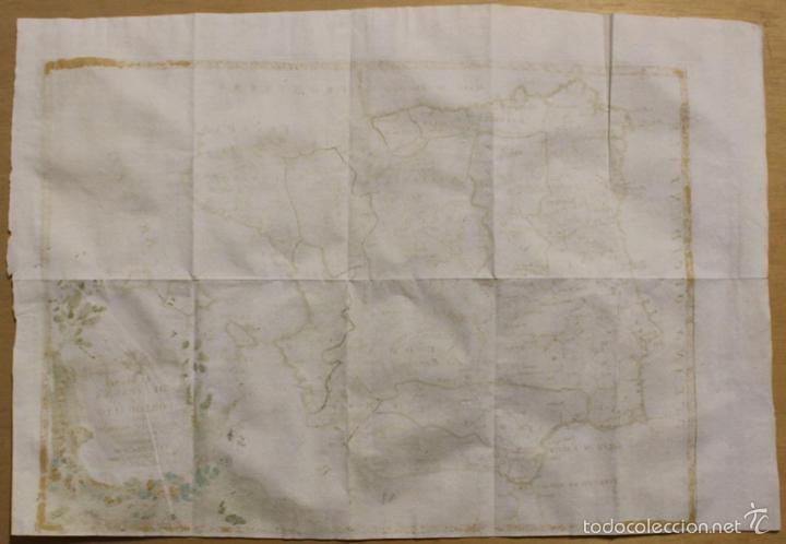 Arte: Mapa de España y Portugal, 1796. Antonio Zatta - Foto 12 - 58067855