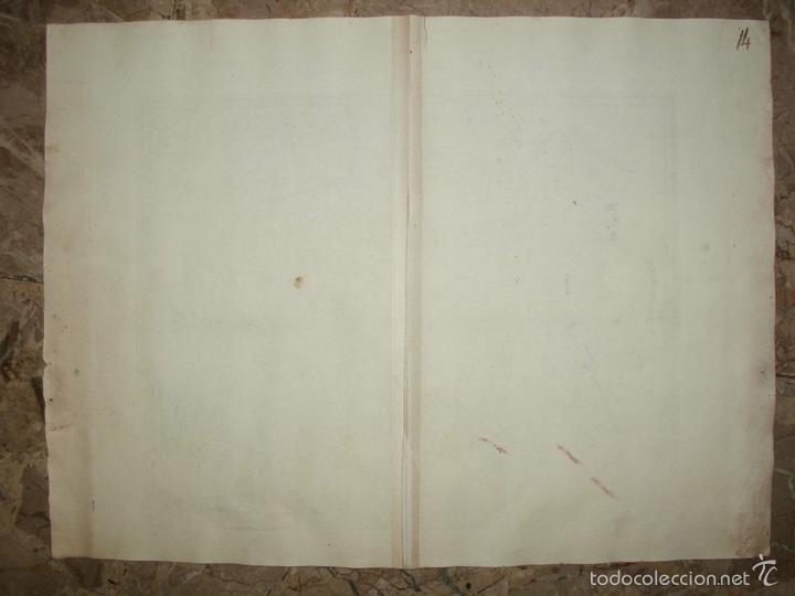 Arte: Mapa de España y Portugal, 1750. De LIsle y Albrizzi - Foto 2 - 58068175