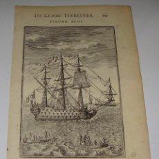 Arte: GRABADO DEL S.XVIII. DU GLOBE TERRESTRE. FIGURE XCIII. Lote 58118092