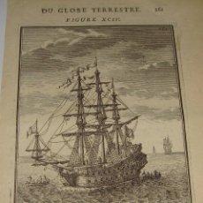 Arte: GRABADO DEL S.XVIII. DU GLOBE TERRESTRE. FIGURE XCIII. Lote 58118166