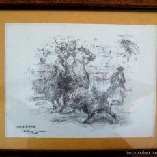 Arte: JOAN REUS. SUERTE DE VARAS. . Lote 58120888