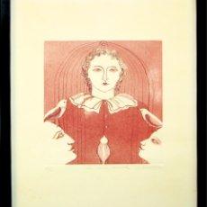 Arte: I1-026. GRABADO SOBRE PAPEL. FIRMA AUTÓGRAFA. FENOLLOSA. 14/20. ESPAÑA. CIRCA 1980.. Lote 58183955
