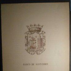 Arte: GRABADO - CASTRO URDIALES - IGLESIA DE SANTA MARÍA - FLAVIO SAN ROMÁN -. Lote 58286136