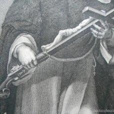 Arte: GRAN GRABADO DE 1826 DE SAN LUIS BERTRAN POR EL RECONOCIDO GRABADOR FRANCISCO JORDAN ALICANTINO. Lote 58613665
