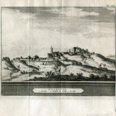 Arte: SEVILLA. PALACIOS. GRABADO POR PIETER VAN DER AA, 1707.. Lote 59014080