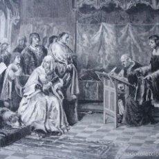 Arte: EDUCACION PRINCIPE JUAN .SALVADOR MARTINEZ CUBELLS .AÑO 1878. Lote 59134560