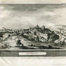 Arte: CÁDIZ. SETTENIL. GRABADO POR PIETER VAN DER AA EN 1707. Lote 59605515