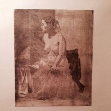 Arte: GRABADO ANÓNIMO DE 1934, POSIBLEMENTE DE JOSÉ HUMBERT ESTEVE. Lote 59655623