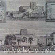 Arte: ASTURIAS (LLANES) TORRE DE NORIEGA, CONSTRUIDA HACIA EL SIGLO VIII (1879). Lote 59956423