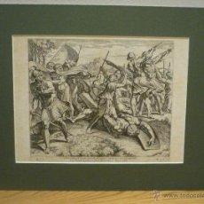 Arte: DAVID Y GOLIAT. NICOLAS CHAPERON (1612-1656). SIGLO XVII.. Lote 43153140