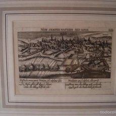 Arte: GRABADO VALLADOLID 1629 MEISNER Y KIESSEV PLANO DE LA CIUDAD FRANKFURT. Lote 60284791