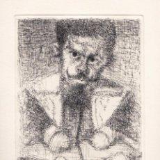 Arte: JOAN CRUSPINERA REALISMO III ( SEBASTIÁN DE MORRA ) GRABADO FIRMADO NUMERADO LÁPIZ EJEMPLAR 125/195. Lote 60496127