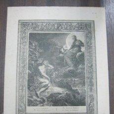 Arte: LA LUNE & ENDYMION. B. PICART. 44,3X32,3 CM. Lote 60559683