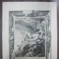 Arte: PROMETHEE DECHIRE PAR UN VAUTOUR. B. PICART. 44,3X32,3 CM. Lote 60559751