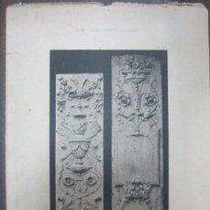 Arte: BAU-ORNAMENTE BERLINS. 44,3X32,3 CM. Lote 60559959