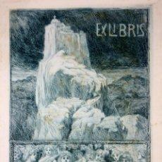 Arte: LOTE DE EX-LIBRIS Y GRABADOS DE BRUNO HEROUX. FRANCIA (1868-1944). Lote 60599235