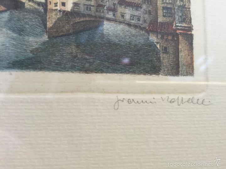 grabado, firmado y numerado, vista panorámica d - Comprar Grabados ...